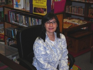 Sandra Tharp-Thee, Director, Ioway Tribe of Oklahoma Library