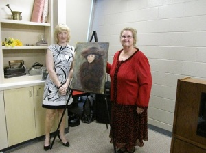 Portrait by Cheryl Capps Roach (Cheryl on left, Donna Le on right)